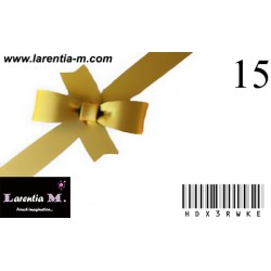 Gift card - 15 €