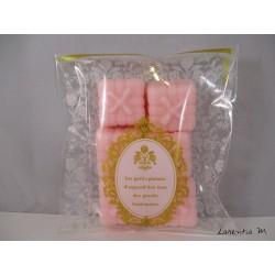 6 Perfume fondants - Rose